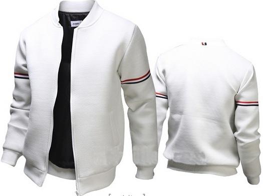ce2569995 Mens Casual Jacket Outdoor Sportswear Windbreaker Lightweight Bomber Jackets