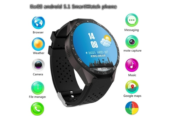 Unisex Fashion Watch KW88 Andrews Smart Watch