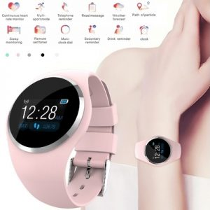 Relojes Inteligentes Bracelet Woman Heart Rate Blood Pressure/Oxygen Intelligent Gift Smart Watch