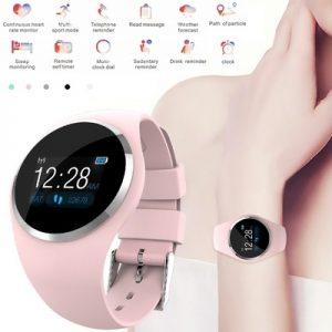 Relojes Inteligentes Bracelet Woman Heart Rate Blood Pressure/Oxygen Intelligent Gift Smart Watch